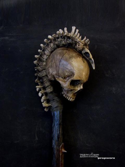 Necromancer's Staff by Sander Propworks. Want.