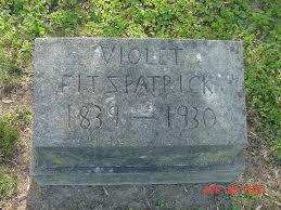 violet headstone