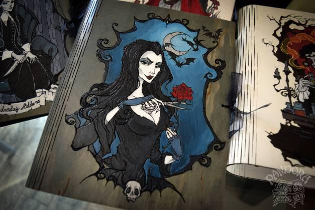 Morticia Addams Book of Shadows, $85