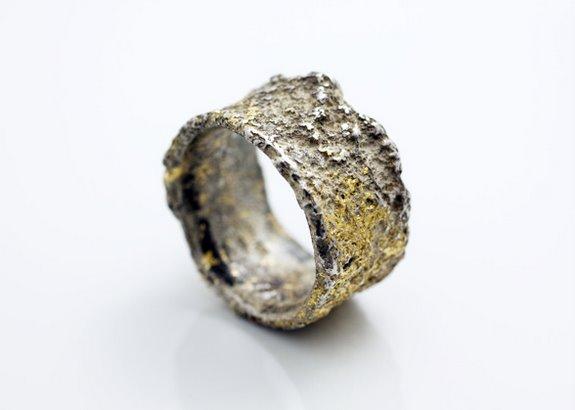 Corroded Rings By Yasushi Jona Spoon Amp Tamago
