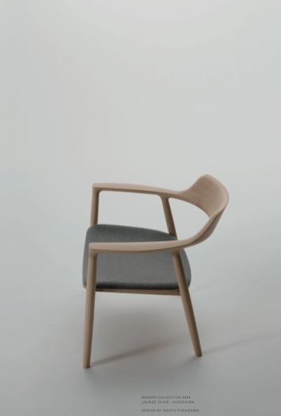 small wood chair stackable deck chairs naoto fukasawa   hiroshima series for maruni spoon & tamago