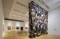 A Wall of 300 Chairs and Clothes by Fumiko Kobayashi ...