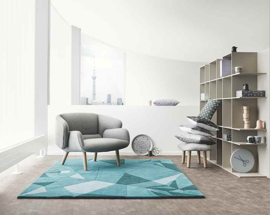 japanese inspired living room wall pictures nendo's origami-inspired furniture for boconcept | spoon ...