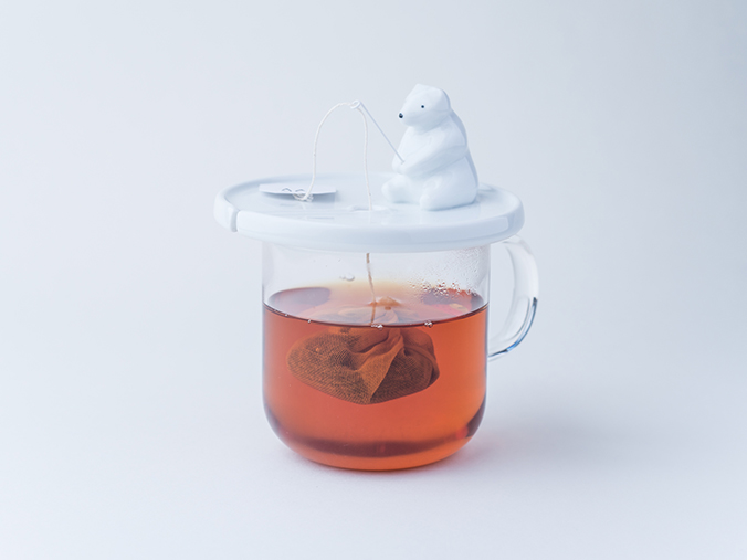 Shirokuma Tea Bag Holder Makes Steeping Tea More Fun