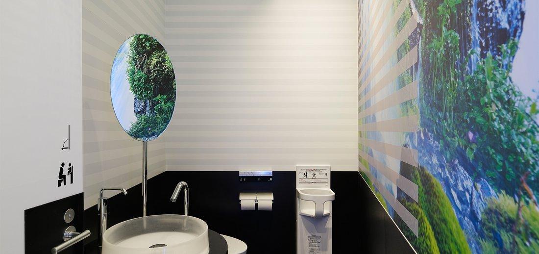 toto toilet gallery at narita