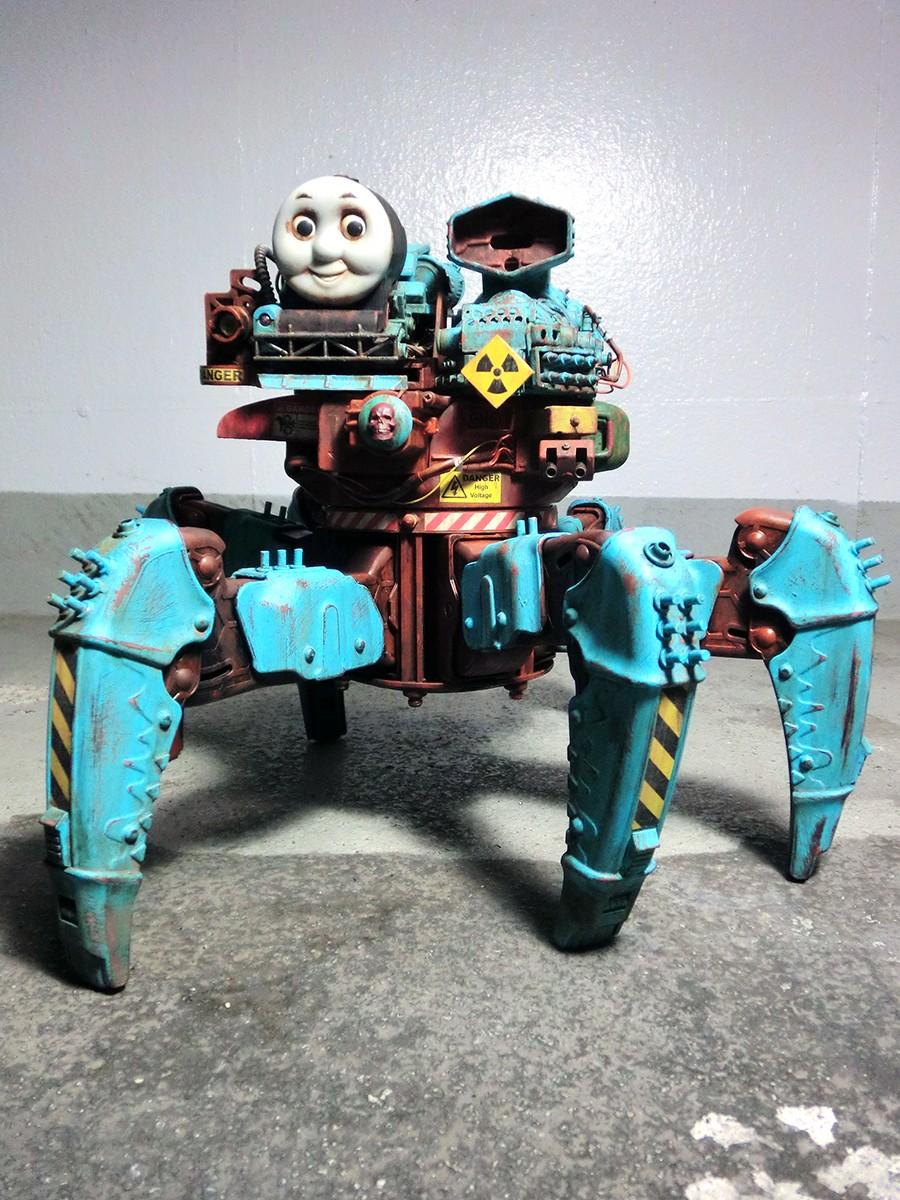 Post Apocalyptic Thomas The Tank Engine Hack Spoon Amp Tamago