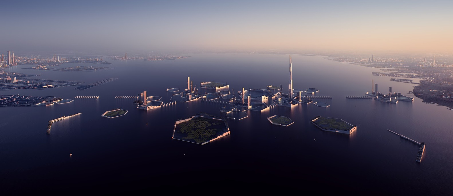 Could Tokyo Bay Host A Floating Eco City In 30 Years