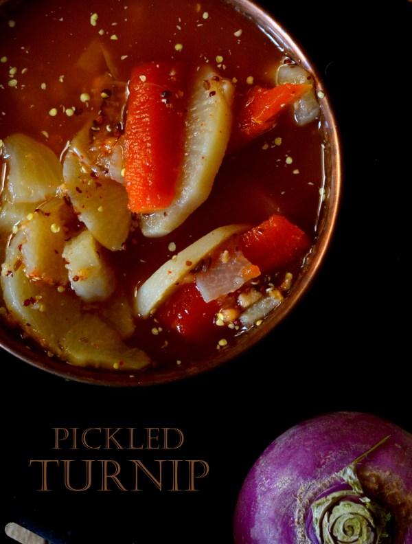 Pickled Turnip