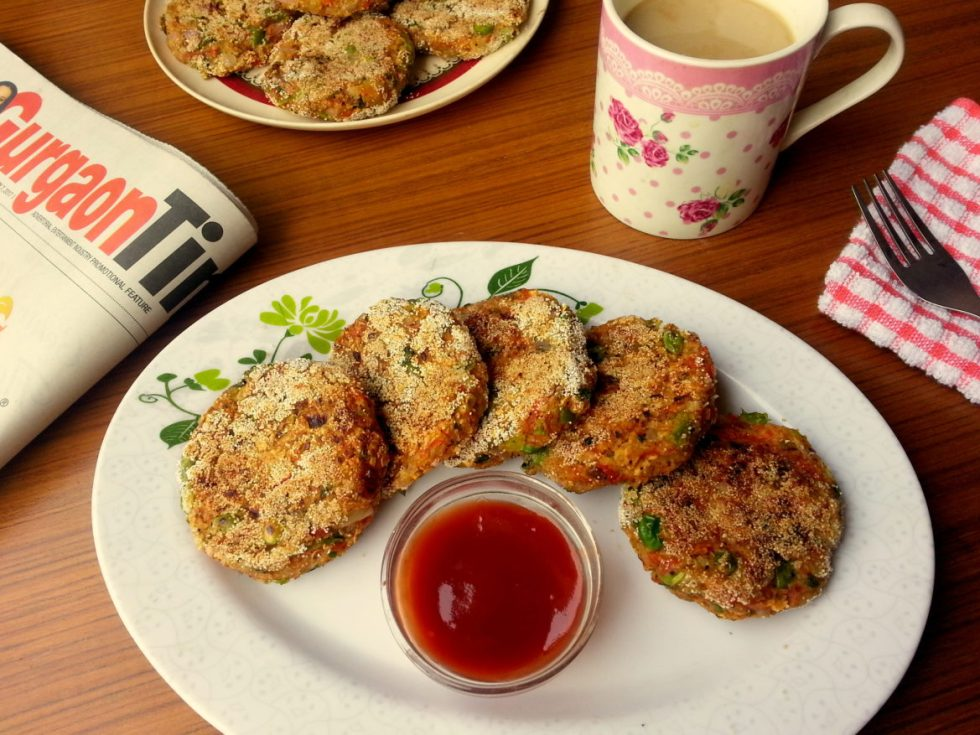 Oats and Vegetable Cutlets
