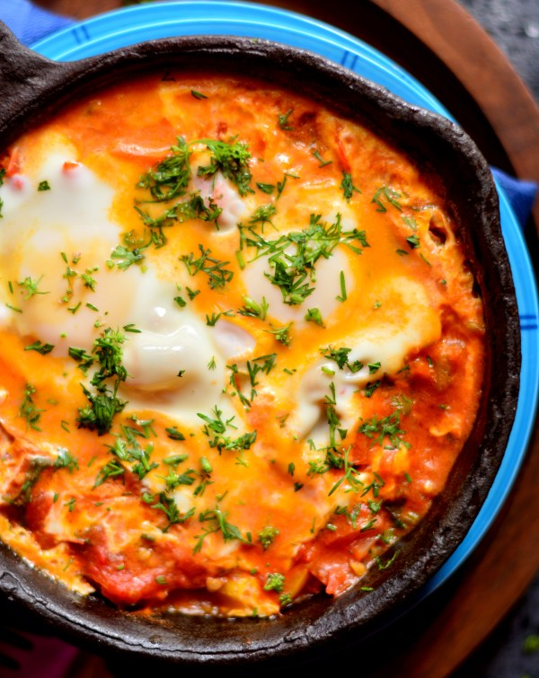 Spicy Moroccan Eggs
