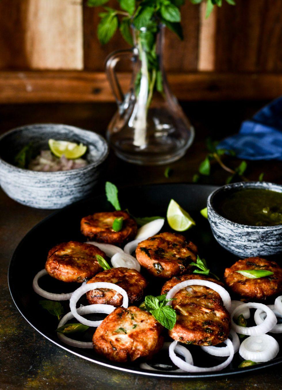 chicken shikampuri kebab