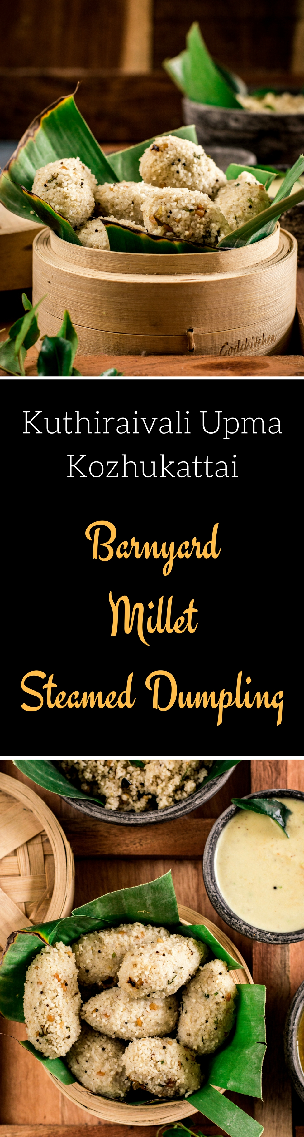 Barnyard Millet Steamed Dumplings