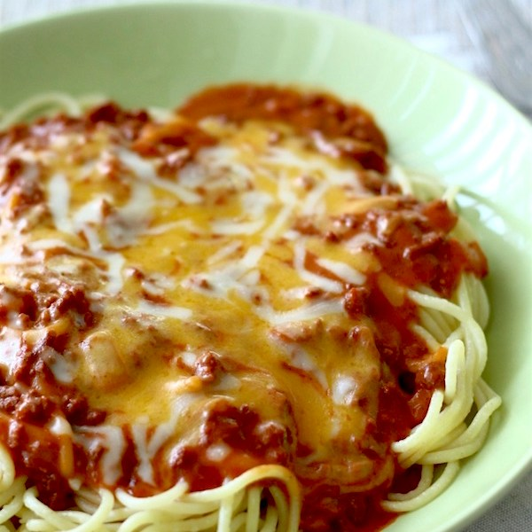 Filipino-Style Spaghetti | SpoonfulOfButter.com