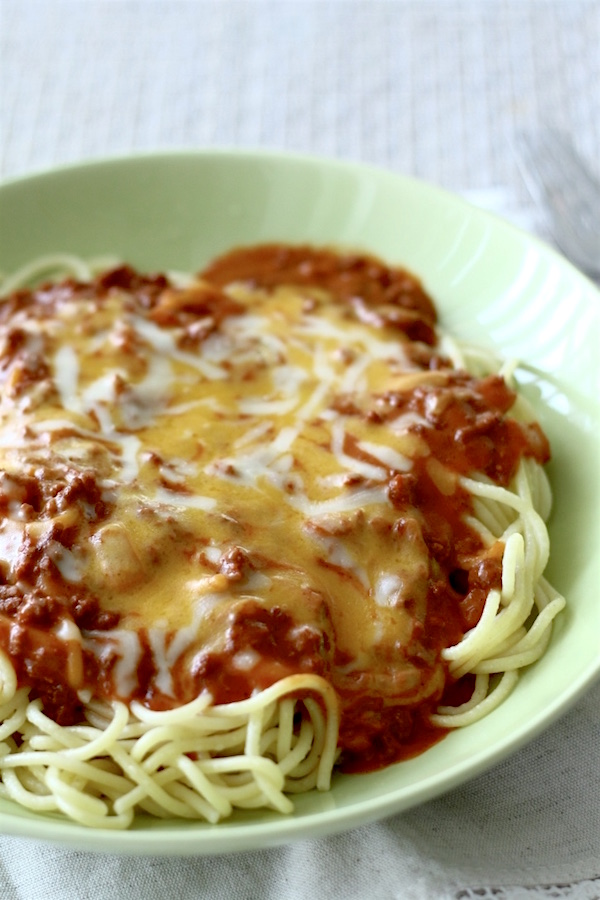 Filipino Sweet-Style Spaghetti