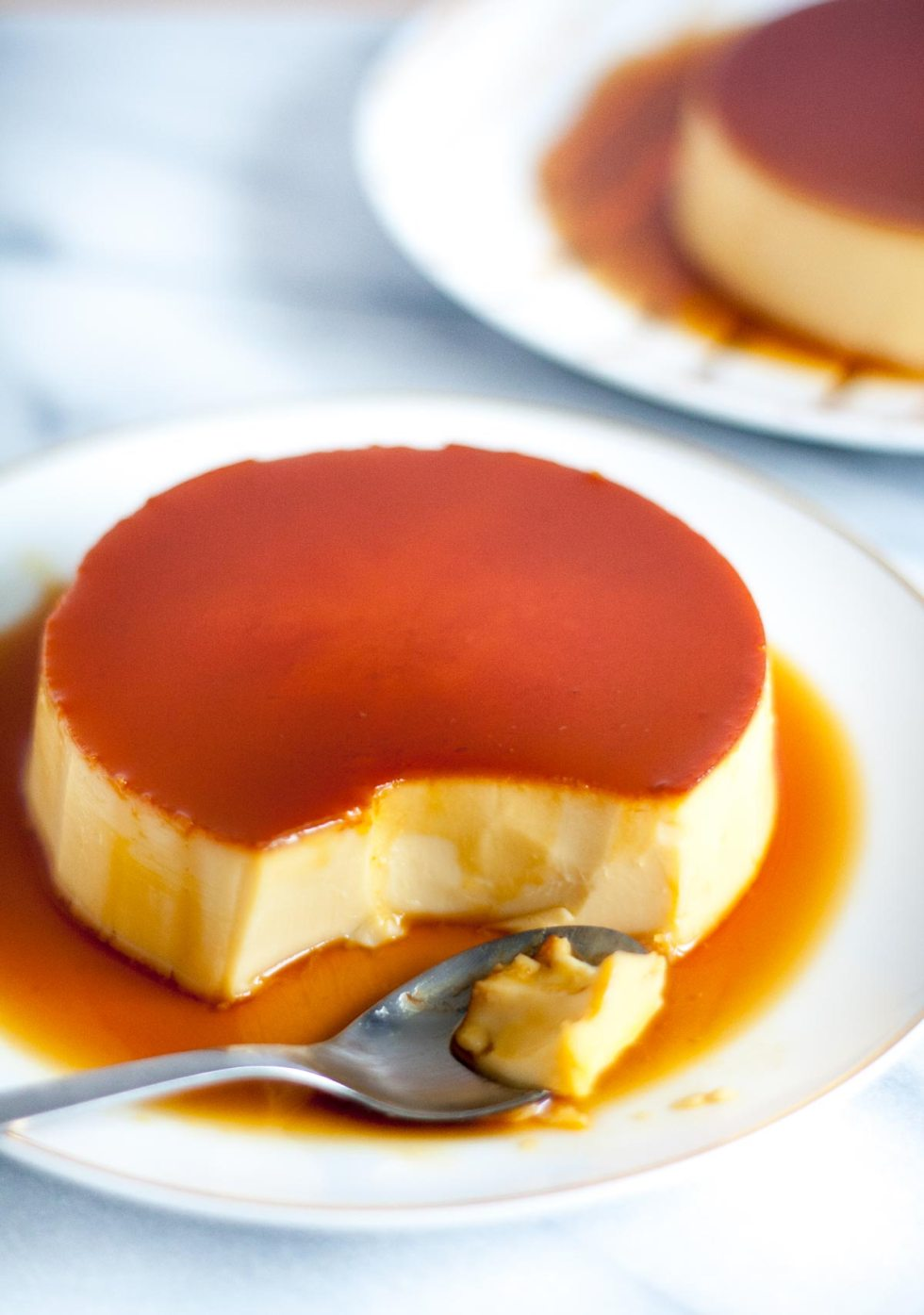 what is in flan