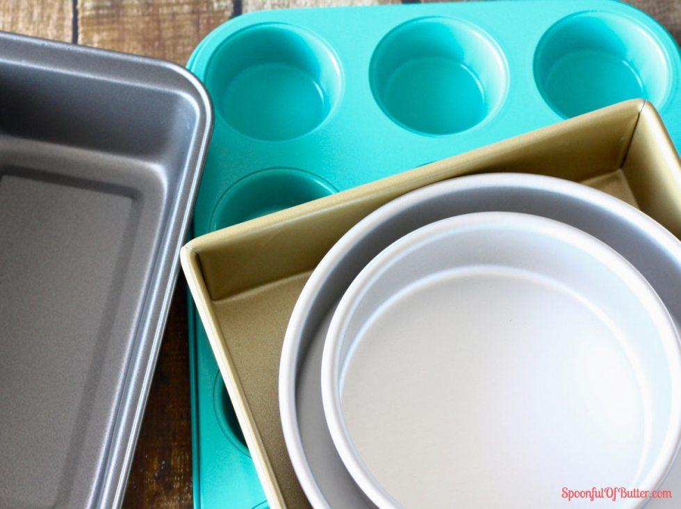 Baking Rule # 6: Use the right baking pan. When you use a different pan size from the one indicated in the recipe, you will need to adapt the amounts of all ingredients.