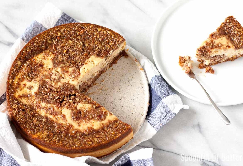 Pecan Pie Cheesecake Cover Photo