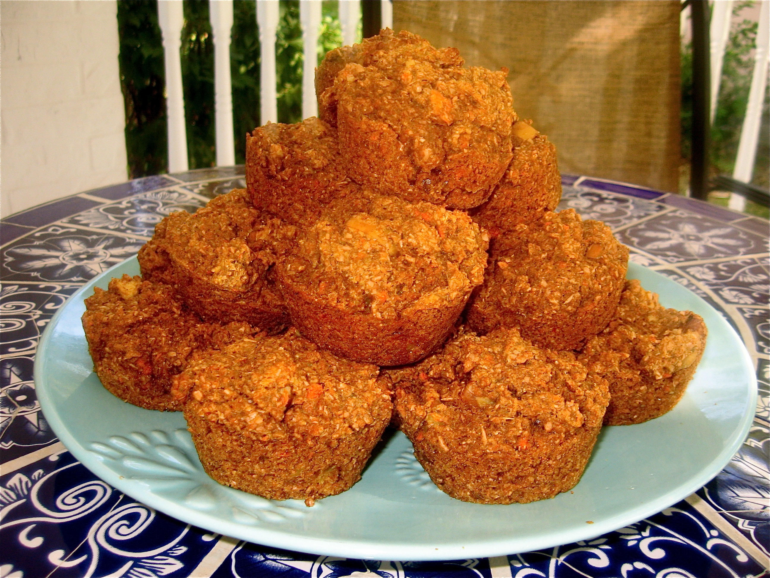 Carrot-Apple Bran Muffins