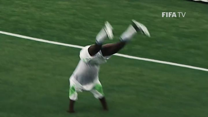 Former  forward  turns 38 today.  The most acrobatic goal celebration in FIFA  h...