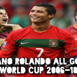 Cristiano Ronaldo All Gols In Fifa World Cup 2006-18
