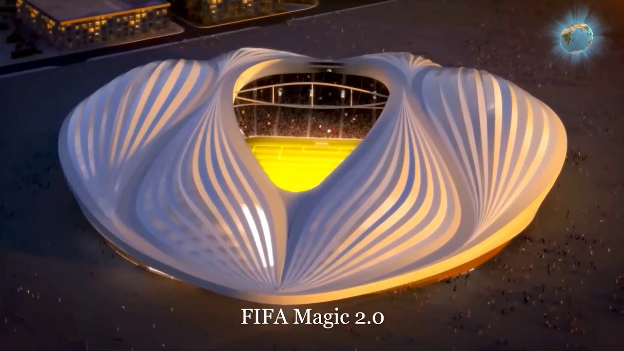 Model Qater world cup 2022 the beautifull  stadium offic