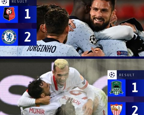 RESULTS  Which late winner did you enjoy more?    Late goals & drama in Group E...