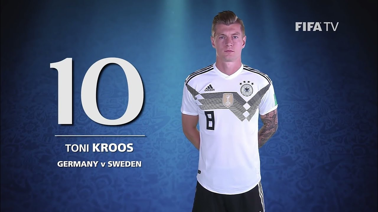 Best Goal From Toni Kroos WorldCup 2018 #FIFA #BESTGOALS #SPORTS #FIFAWORLDCUP #MYGAME