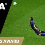 Best goal of Fifa world Cup 2014 | The Flying Dutchman Van Persie