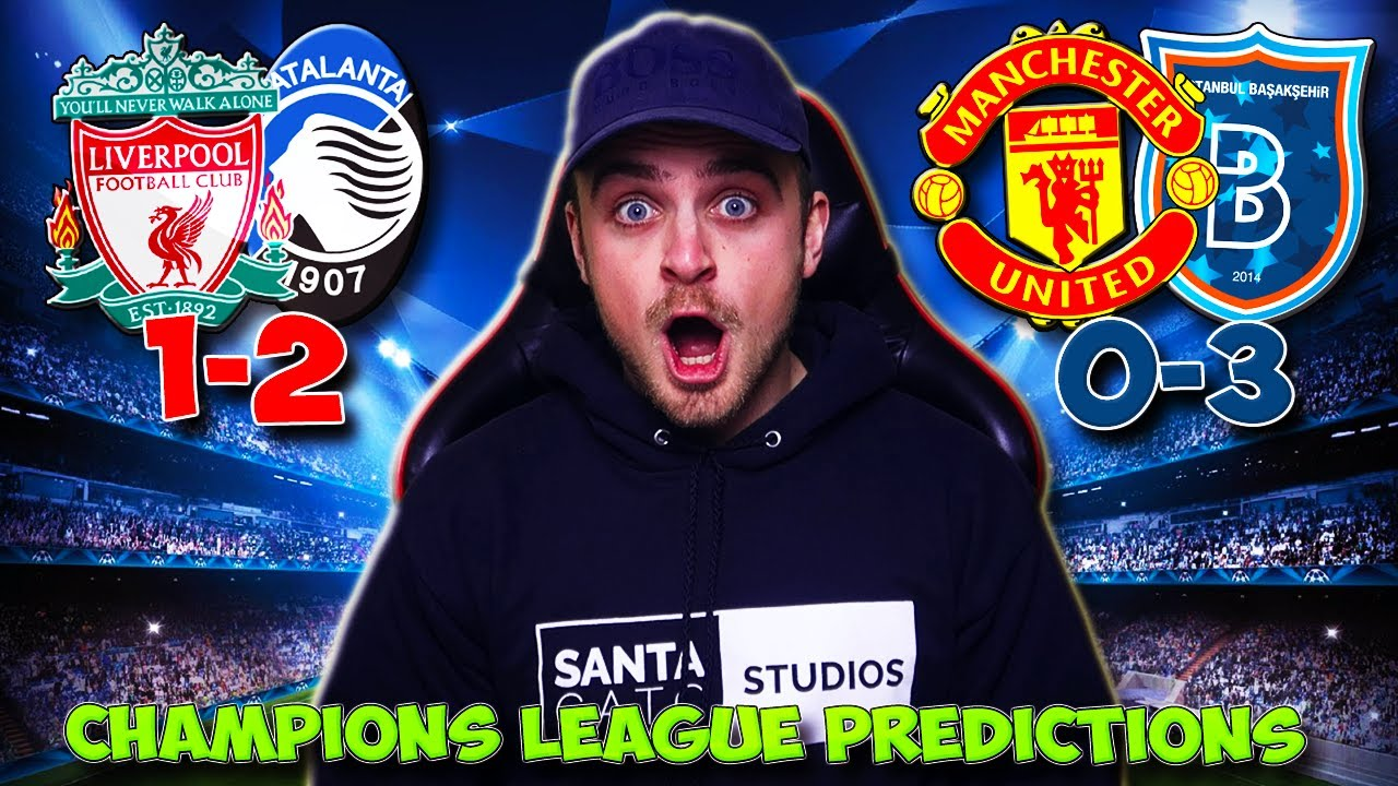 CHAMPIONS LEAGUE 2020/21 MATCHDAY/GAMEWEEK 4 PREDICTIONS