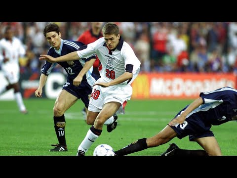 FIFA World Cup GREAT GOALS - Michael OWEN wonder goal! - England v Argentina (France 1998)