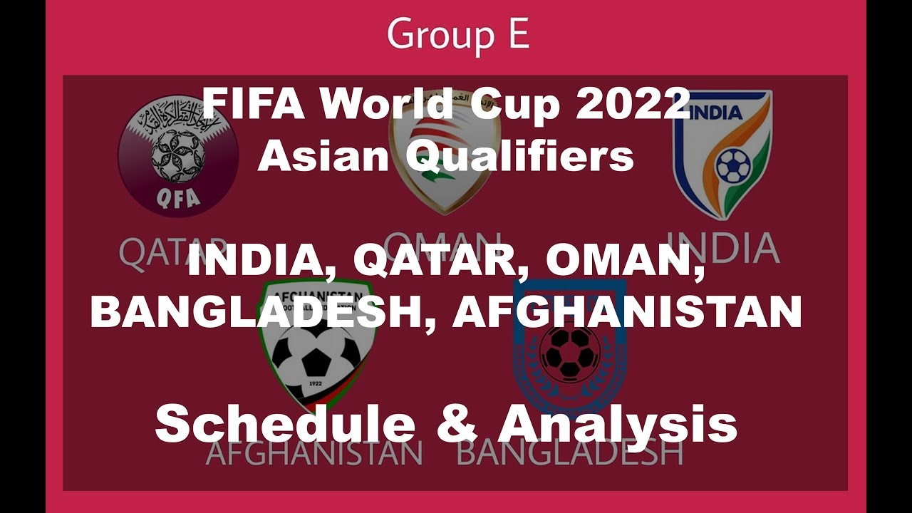 INDIA in FIFA World Cup 2022 Qualifiers   Group E Schedule & Chances of Qualification for India