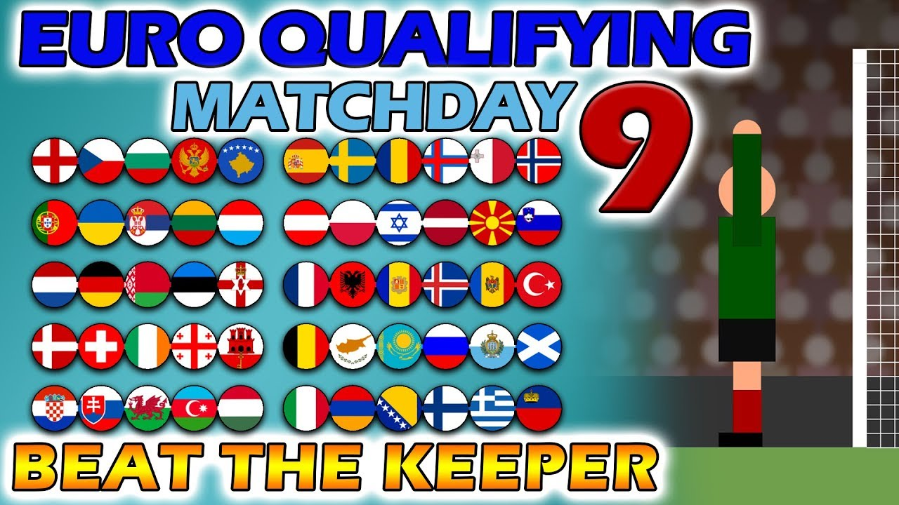Beat The Keeper - UEFA Euro 2020 Qualifying Matchday 9