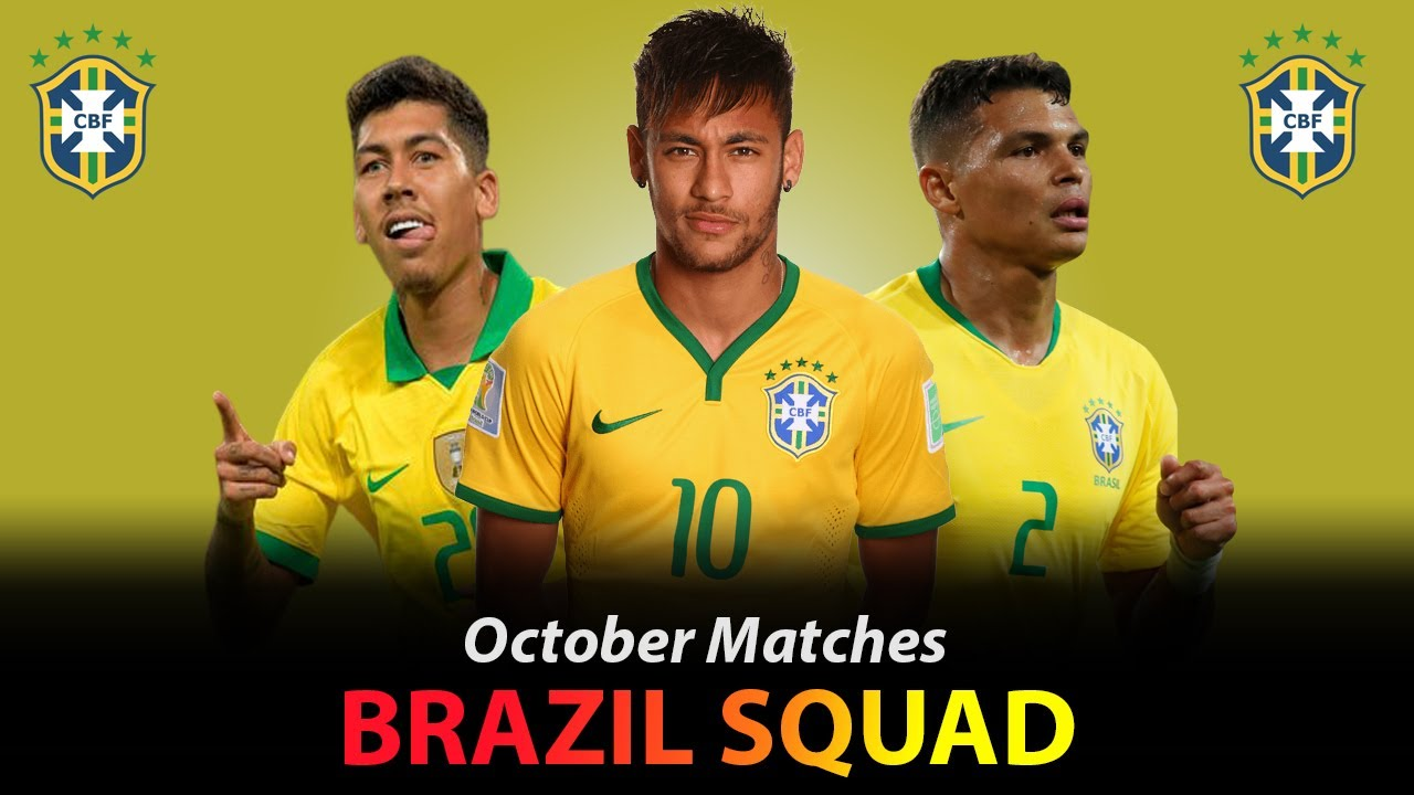 BRAZIL SQUAD FOR FIFA WORLD CUP 2022 QUALIFIERS VS BOLIVIA AND PERU OCTOBER 2020