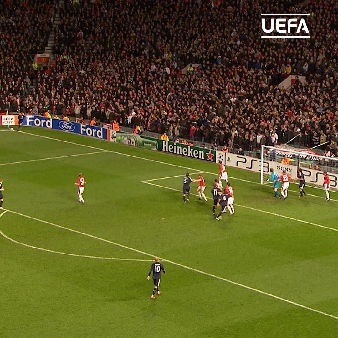 6   goals at Old Trafford  Favourite?...