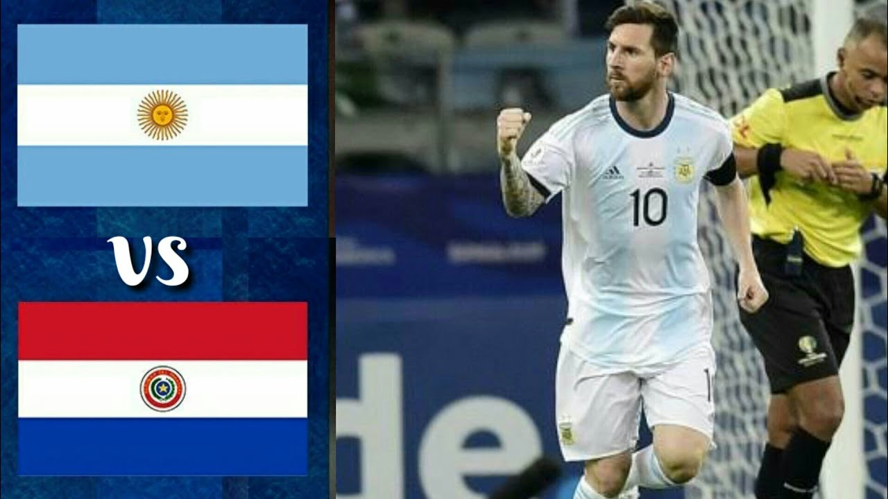 ARGENTINA vs PARAGUAY ~ FIFA WORLD CUP 2022 QATAR QUALIFIERS ZONA CONMEBOL ~ LIVE MATCH INFORMATION