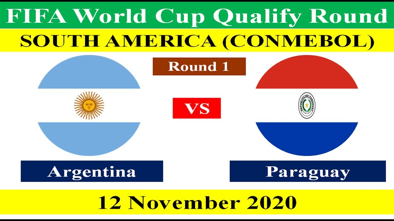 Argentina vs Paraguay on 12 November 2020 in FIFA World Cup 2022 South American Qualifying Match.