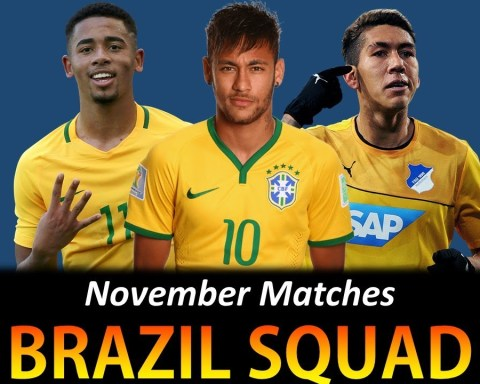 BRAZIL SQUAD FOR FIFA WORLD CUP 2022 QUALIFIERS VS VENEZUELA AND URUGUAY NOVEMBER 2020 ? SR Sports