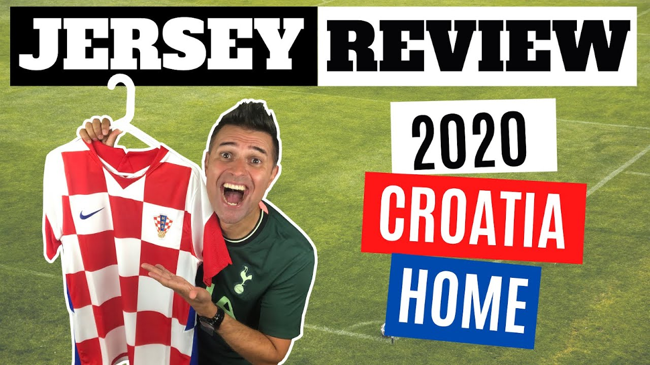 CROATIA UEFA EURO 2020 - Nike 2020 Croatia Home Jersey - Unboxing + Review