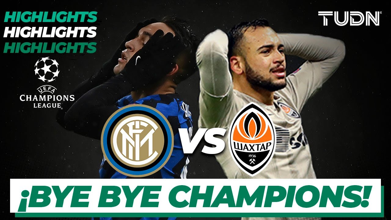 Highlights | Inter Milan vs Shaktar | Champions League 2020/21-J6 | TUDN