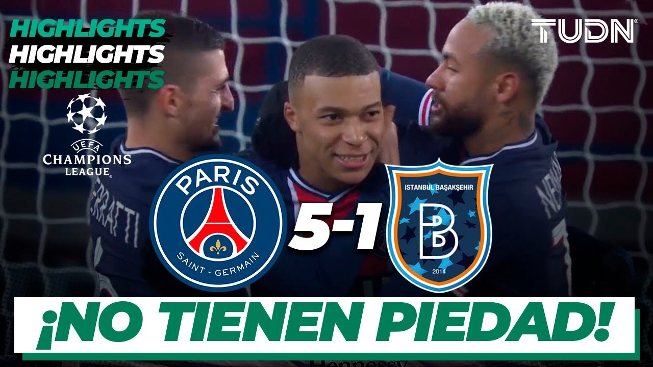 Highlights | PSG 5-1 Istanbul | Champions League 2020/21-J6 | TUDN