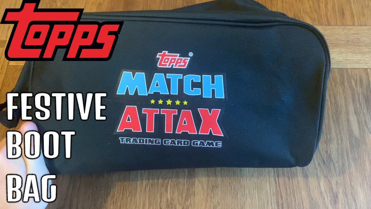 MATCH ATTAX 2020/21 FESTIVE BOOT BAG - 5 LIMITED EDITIONS! UEFA Champions League