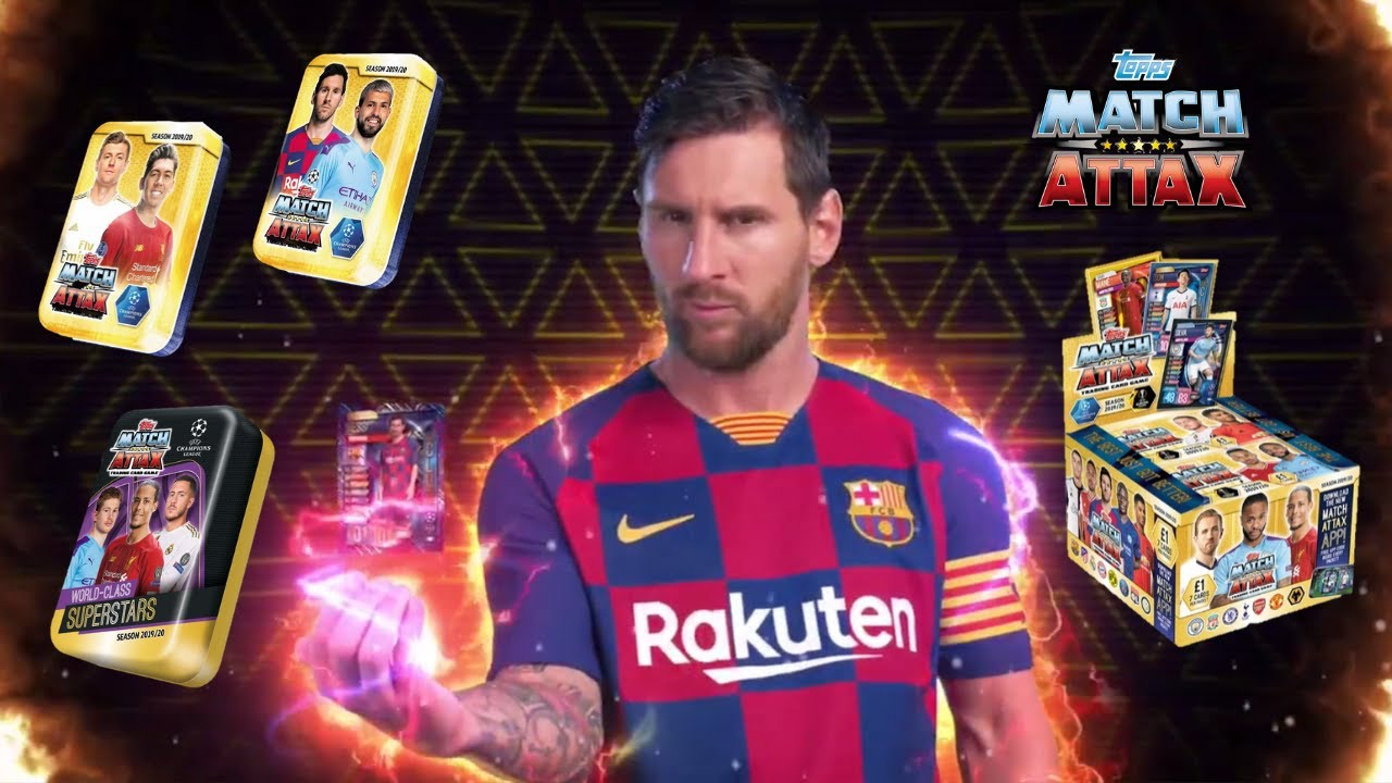 Match Attax 2019/20 Trading Card Game of the UEFA Champions League and UEFA Europa League