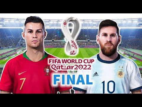 PES 2020 | PORTUGAL VS ARGENTINA | FIFA World Cup 2022 Final | Gameplay