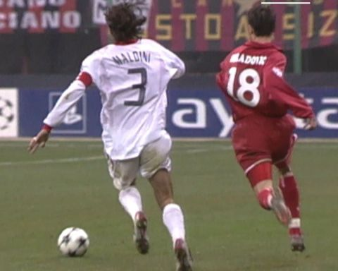 Decisive defending!  Who did it best?  1& Paolo Maldini 2& Carles Puyol 3& Walt...