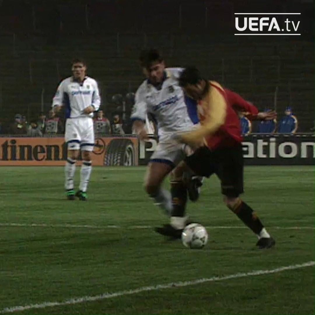 Gheorghe Hagi sending Parma the wrong way    ...