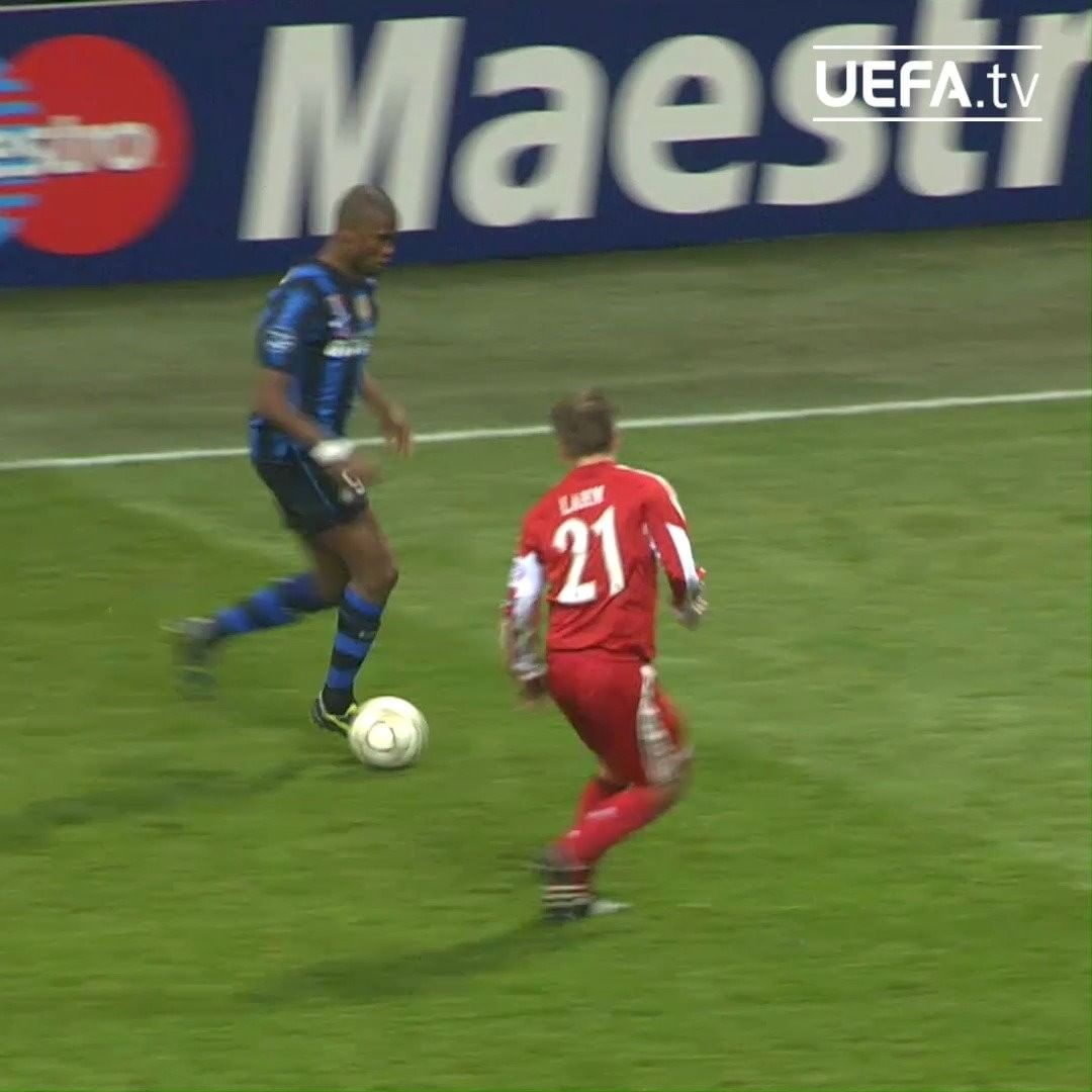 Tackling masterclass, by Philipp Lahm      ...