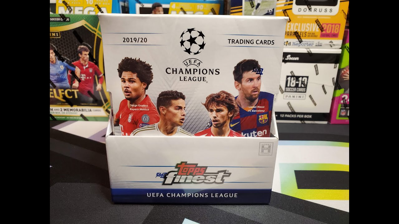 2019-20 Topps Finest UEFA Champions League Hobby break