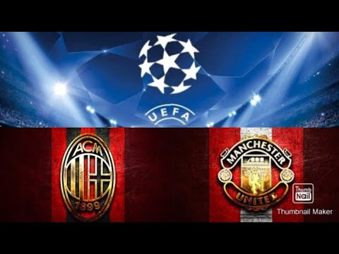 AC Milan vs Manchester United (3-0) UEFA CHAMPIONS LEAGUE HIGHLIGHTS