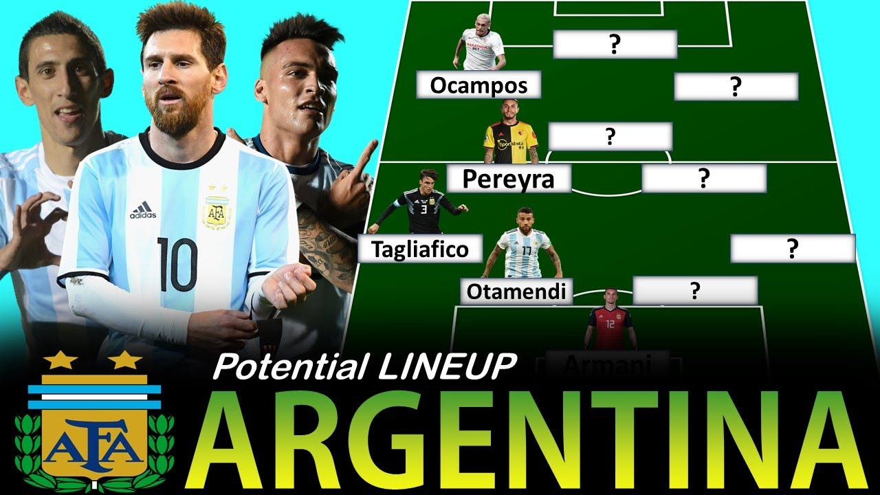 Argentina Potential Lineup for World Cup 2022 Qualifiers vs Paraguay and Peru November 2020