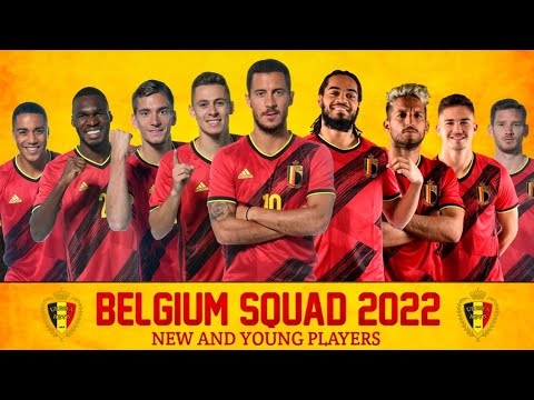 Belgium Full Squad World Cup 2022 | Belgium New And Young Players 2022 | Qatar World Cup 2022